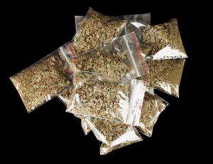 bags of marijuana